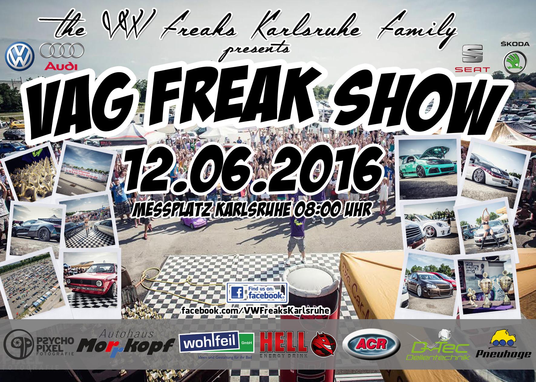 Unsere VAG Freak Show 2016